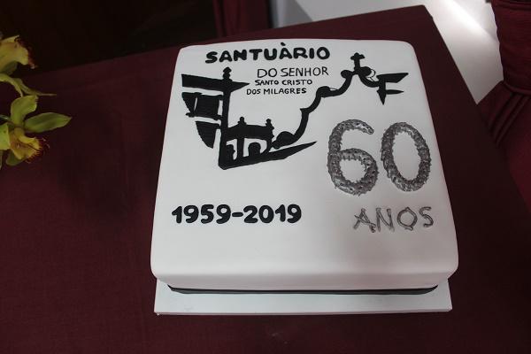 Comemoração do 60º Aniversário do Santuário do Senhor Santo Cristo