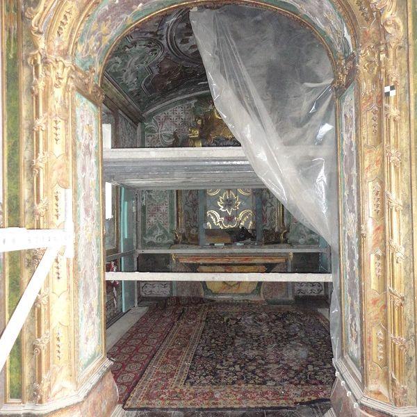 Restauro da Capela do Bom Jesus da Cruz às Costas - Coro Alto