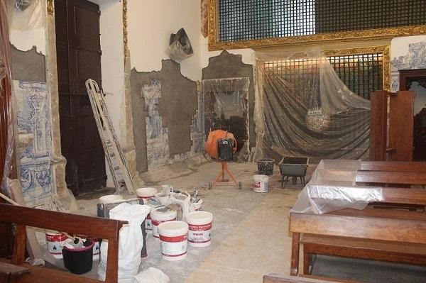 Restauro dos painéis de azulejos da Igreja de Nossa Senhora da Esperança